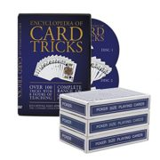 The Ultimate Card Magic Kit Encyclopedia of Card Tricks Set with Pro Svengali, Stripper and Invisible Decks For Adults or Kids