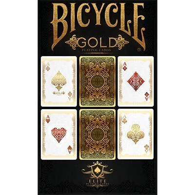 Bicycle Gold Deck by US Playing Cards - Trick