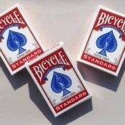 Masters Bicycle Combo: Invisible, Svengali and a Standard Deck Red Back