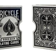 Stainless Steel Bicycle Playing Card Clips Holder for Professional Magicians - Magic Trick Accessory, Protect Card magic accessory