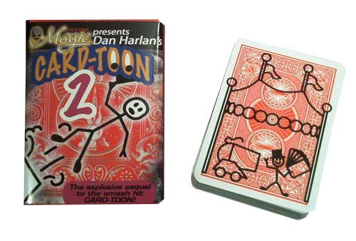 Dan Harlan's Card-Toon 2 - Magic Card Trick